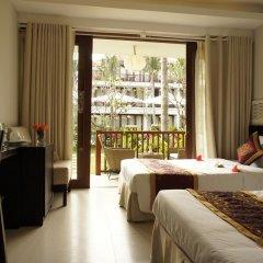 Отель Vinh Hung Emerald Resort Номер Делюкс фото 2