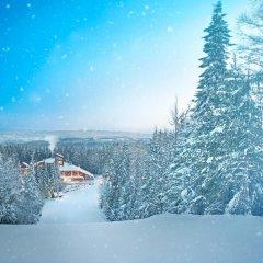 Отель Yastrebets Wellness & Spa Болгария, Боровец - отзывы, цены и фото номеров - забронировать отель Yastrebets Wellness & Spa онлайн приотельная территория