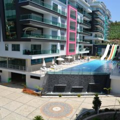 Отель Luxury Apt in Konak Sea Side with a Sea front view and a private beach фото 5