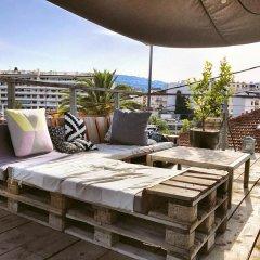 Отель Villa du roc fleuri Франция, Канны - отзывы, цены и фото номеров - забронировать отель Villa du roc fleuri онлайн бассейн фото 2