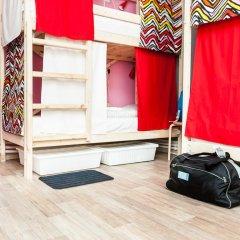 Гостиница Hostels Rus Vnukovo Кровать в женском общем номере с двухъярусными кроватями