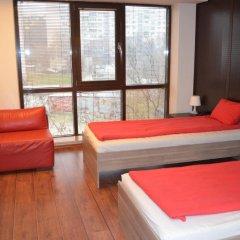 Отель Business Centre Slatina Апартаменты с различными типами кроватей фото 4