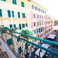 Отель Sky Santa Margherita Ligure Церковь Св. Маргариты Лигурийской балкон