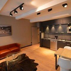 Отель Amosa Liège 3* Апартаменты с различными типами кроватей
