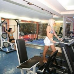 Отель Philoxenia Spa Hotel Греция, Пефкохори - отзывы, цены и фото номеров - забронировать отель Philoxenia Spa Hotel онлайн фитнесс-зал фото 4