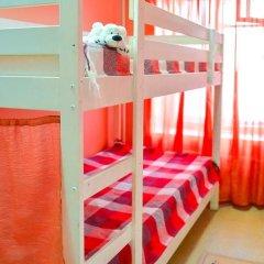 Хостел Панда Кровати в общем номере с двухъярусными кроватями фото 16