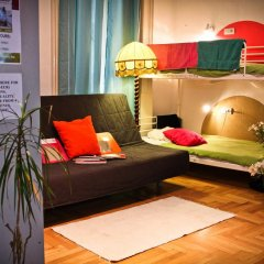 Hostel Budapest Center Стандартный номер с различными типами кроватей фото 10
