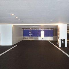 Hotel Ran Фукуока парковка