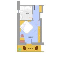 Hotel Zebru Стельвио удобства в номере фото 2