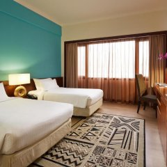 Village Hotel Bugis 4* Улучшенный номер с двуспальной кроватью фото 2