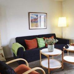 Апартаменты Ascot Apartments Копенгаген комната для гостей фото 2