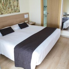 Отель Aura Park Fira Barcelona Апартаменты Премиум с различными типами кроватей фото 10