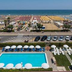 Отель Villa Augustea пляж