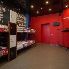 Hostel Racing Paradise Кровать в общем номере с двухъярусной кроватью фото 33