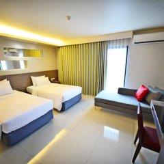 Praso @ Ratchada 12 Hotel 4* Улучшенный номер с различными типами кроватей фото 3