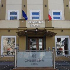 Отель CHMIELNA Варшава интерьер отеля