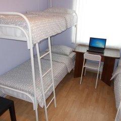 Хостел Новый Кровать в общем номере с двухъярусной кроватью