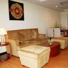 Отель D Varee Jomtien Beach 4* Представительский люкс с различными типами кроватей