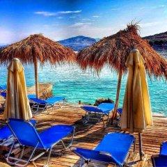 Отель Holiday Home Minaj Албания, Ксамил - отзывы, цены и фото номеров - забронировать отель Holiday Home Minaj онлайн пляж фото 2