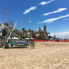 Hotel Led-Sitges пляж