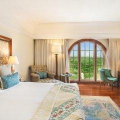 Отель The Oberoi Amarvilas, Agra 5* Люкс повышенной комфортности с различными типами кроватей фото 3