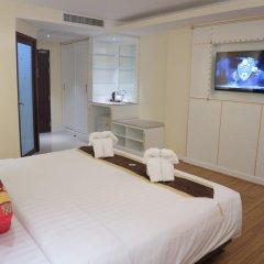 Отель Achada Beach Pattaya 3* Номер Делюкс с различными типами кроватей фото 9