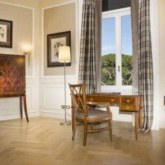 Rome Marriott Grand Hotel Flora 4* Президентский люкс с различными типами кроватей
