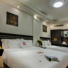 Noble Boutique Hotel Hanoi 3* Стандартный семейный номер с двуспальной кроватью фото 5
