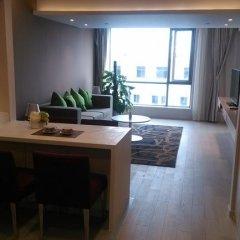 Отель Citadines Central Xi'an Представительский номер с различными типами кроватей фото 18