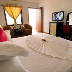 Hanoi Golden Hotel 3* Улучшенный номер с различными типами кроватей фото 8