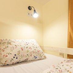Хостел Олимп Семейные номера Комфорт с двуспальной кроватью фото 4