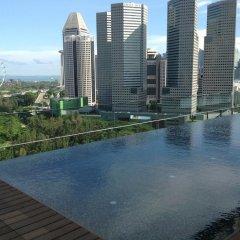 Отель Pan Pacific Serviced Suites Beach Road, Singapore бассейн