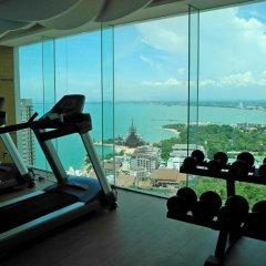 Отель Wong Amat Tower фитнесс-зал