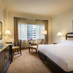 Отель Mandarin Orchard Singapore 5* Номер Делюкс с различными типами кроватей фото 2