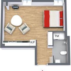Отель Avenue A1 Улучшенные апартаменты с различными типами кроватей фото 44