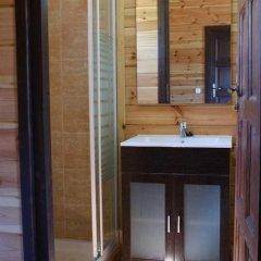 Отель Lincetur Cabañeros - Centro de Turismo Rural Испания, Сан-Мартин-де-Монтальбан - отзывы, цены и фото номеров - забронировать отель Lincetur Cabañeros - Centro de Turismo Rural онлайн ванная