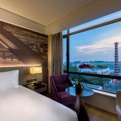 Отель Mercure Shanghai Hongqiao Airport 4* Стандартный номер с различными типами кроватей
