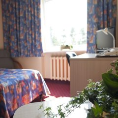 Отель Karolina 3* Стандартный семейный номер с двуспальной кроватью фото 4