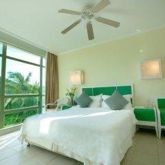 Отель Sunshine Resort Intime Sanya 4* Стандартный номер с различными типами кроватей фото 3