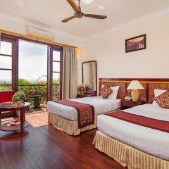 Отель Sunny Beach Resort and Spa 4* Улучшенный номер с различными типами кроватей фото 4