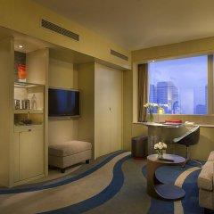 Отель Sofitel Shanghai Hyland 4* Улучшенный номер с различными типами кроватей фото 6