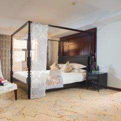 Отель Hangzhou Hua Chen International 4* Улучшенный номер с различными типами кроватей фото 16