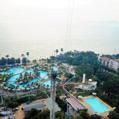Отель Pattaya Park Beach Resort 4* Номер Делюкс фото 3