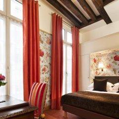 Отель Hôtel Saint Paul Rive Gauche 4* Улучшенный номер с различными типами кроватей фото 12