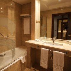 Отель Castilla Termal Balneario de Solares 4* Стандартный номер с различными типами кроватей фото 2