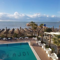 Отель Klajdi Албания, Голем - отзывы, цены и фото номеров - забронировать отель Klajdi онлайн бассейн
