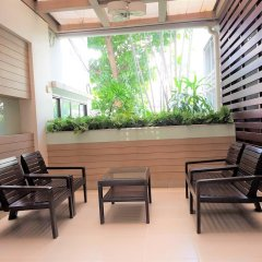 Отель Pt Court Бангкок балкон