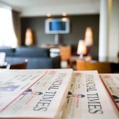 Отель Crowne Plaza Brussels Airport 4* Стандартный номер с различными типами кроватей фото 7