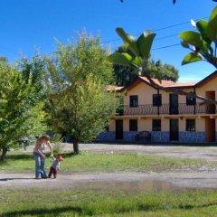 Отель Hacienda Bustillos спортивное сооружение