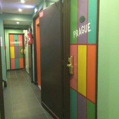 Отель Hôtel Monte Carlo 2* Стандартный номер с различными типами кроватей фото 19